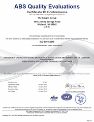ISO 9001 Certificate - Exp 2016